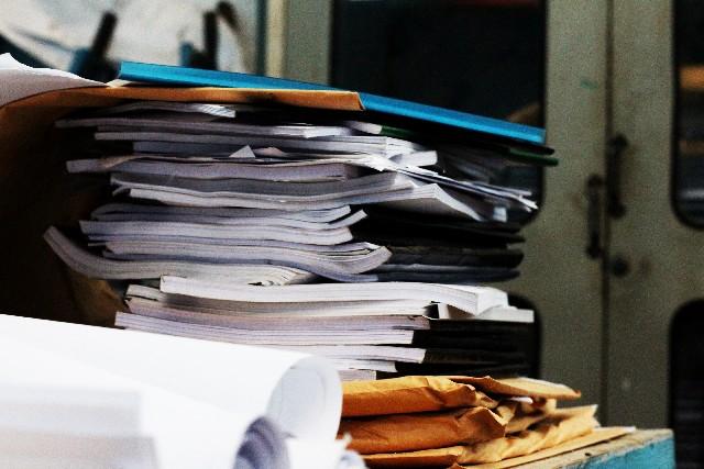 家庭内の書類の整理整頓のコツ!ごちゃごちゃになりがちな書類をカンタンに片付けるコツ!