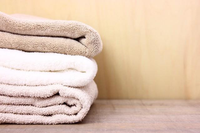 【タオルの整理整頓のコツ!効率の良いタオルの収納法!】