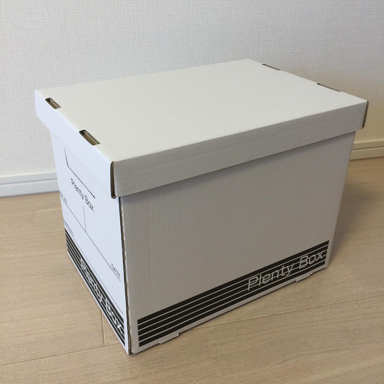 100円shopセリアの整理整頓・収納箱【Plenty Box(プレンティボックス)便利なダンボール】