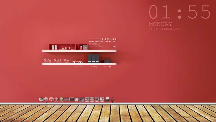 無料 仕事効率化するパソコンのデスクトップ壁紙7選 整理整頓